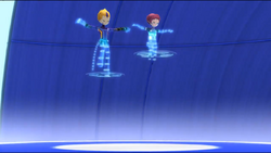 Odd and Aelita virtualized to Arena