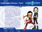 Yumi personality