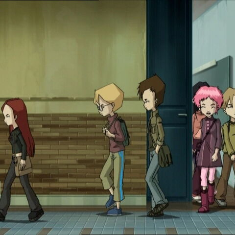 Jeremy, Aelita and several students back to Kadic another year.
