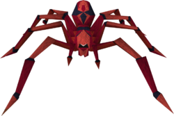 Deadly red spider