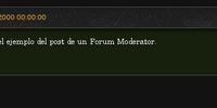 Moderador de foros
