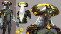 Guthix deity concept art