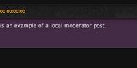 Moderador local