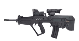 Red dawn weapons TAR-21
