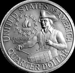USD 25 Cent Bicentennial