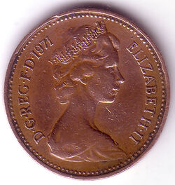 GBP 1971 1 Pence