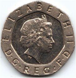 GBP 20 Penny