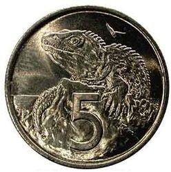 NZD 5 Cent