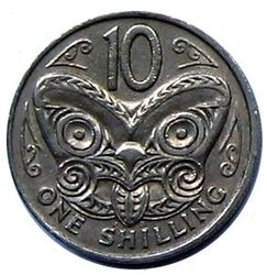 NZD 10 Cent Shilling