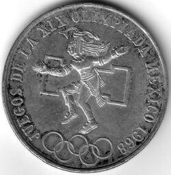 MXN 1968 25 Peso