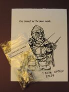 Dwarf in Iron Mask Card Photo and Miniature