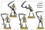 UND02 Skeleton Reapers
