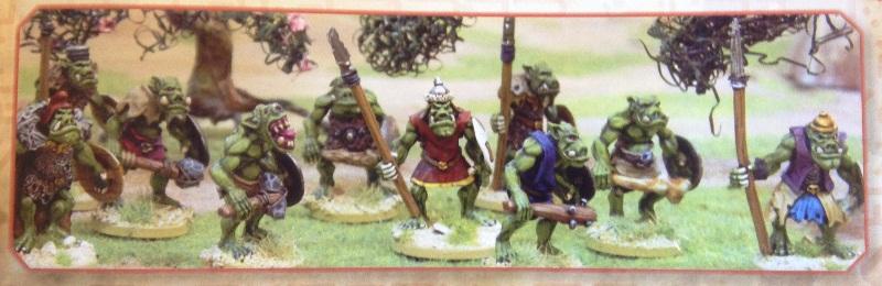Foundry Orc Tribe Warriors BoB