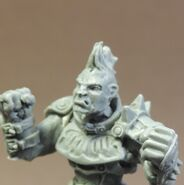 Impact Beastface Chaos Warrior Mohawk head