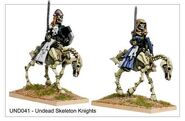 UND041 Skeleton Knights pursue their Dark Quest
