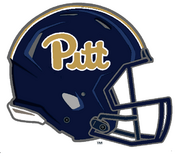 Pittsburgh Panthers Alternate Midnight Blue Helmet Logo - NCAA Division I