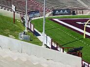 Aggie Memorial Stadium - ROTC Cannon & Bell