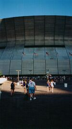 Superdome during National Lutheran Youth Gathering