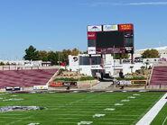 Aggie Memorial Stadium - North Side Video Board 01
