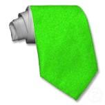 Harlequin green tie