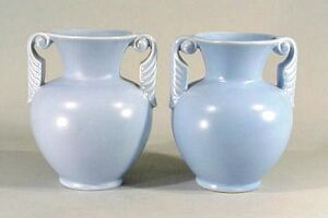 Alice blue vases two