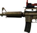 Loaded M4A1 Desert Warrior