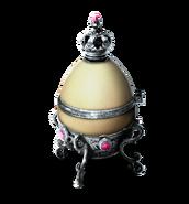Egg case silver