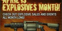 "April - ""Explosives Month"""