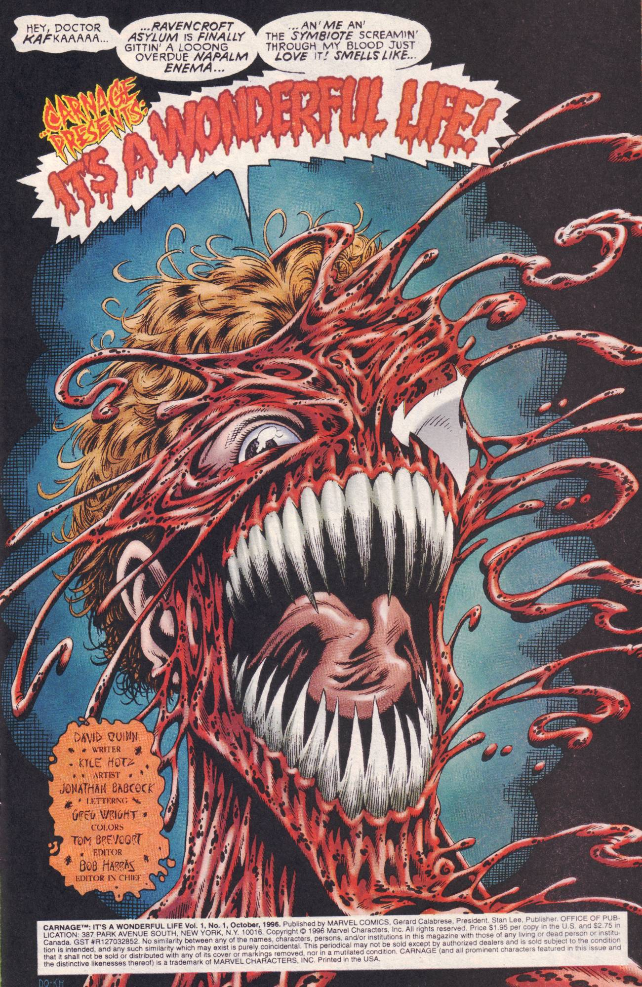 Image Carnage It 39 S A Wonderful Life Vol 1 1 Comic Book Art Wiki Fandom Powered By