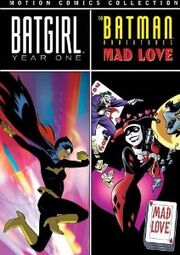BATGIRL YEAR ONE DVD