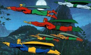 Jsa-legends of the Superheroes promo cel