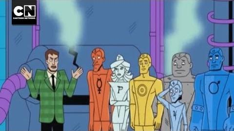 Metal Men - Cash for Gold DC Nation Cartoon Network