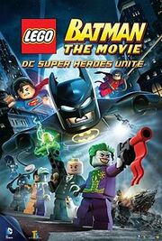 Lego Batman, The Movie cover jpeg