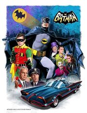 BATMAN 1966 ART BY CHRISTOPHER FRANCHI 2