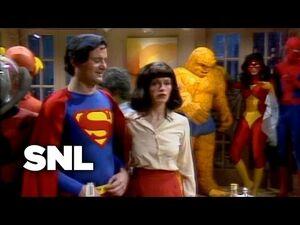 SNL SUPERHERO PARTY