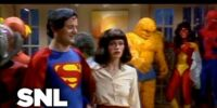 DC COMICS: Superman Family (Christopher Reeve Superman SNL Super Party)