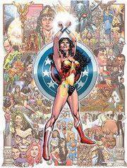 Wonder woman poster resize