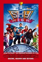 Sky high disney poster 1