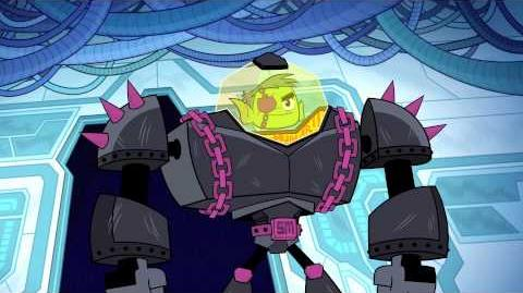 DC COMICS: Teen Titans Go (s2 ep02 Man Person)