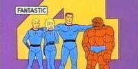 MARVEL COMICS: Fantastic Four (1967 cartoon series)