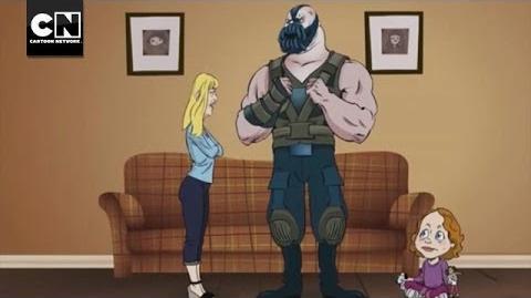 Bane & Kate MAD Cartoon Network