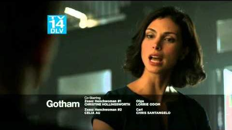 DC COMICS: Gotham (s1 ep14 The Fearsom Dr. Crane)