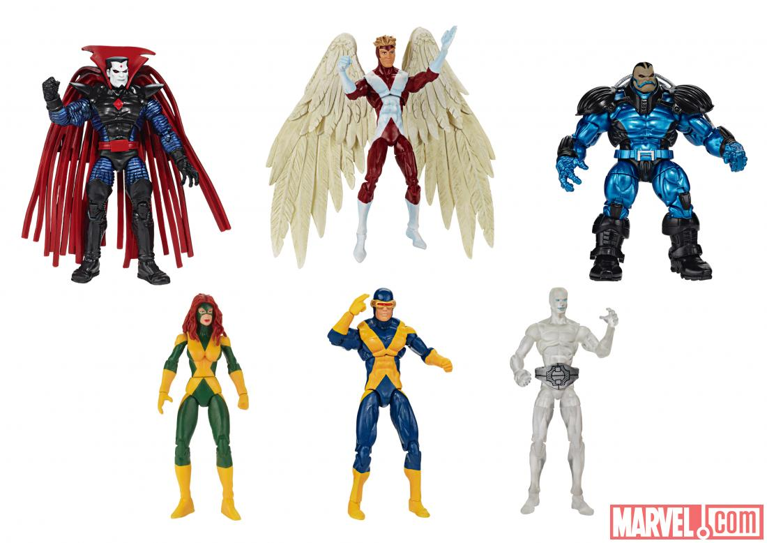 Image - Hasbro Marvel Universe X-Men Collector Set X-Factor Team Pack ...