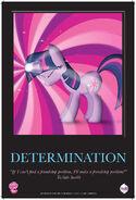 MLPFiM ComicCon2012 Trolley Poster Determination FMA