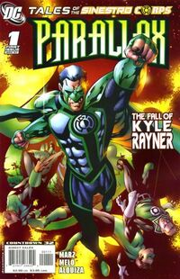 Tales of the Sinestro Corps Presents Parallax 1