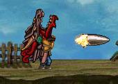 Commando 2 shooting the Dragon Destructor