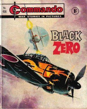 Issue 456 Black Zero Cover