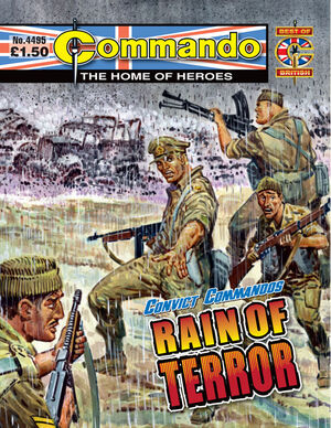 Convict Commandos Rain of Terror