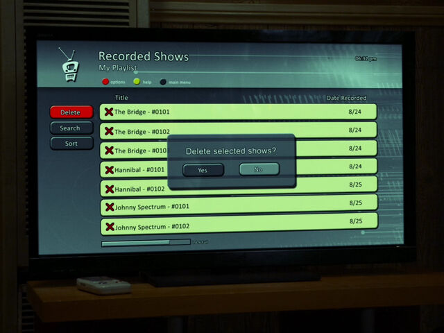 File:5x03-Abed clears DVR of crime shows.jpg