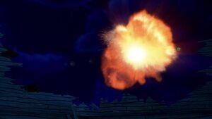 S02E11-Christmas Pterodactyl explodes